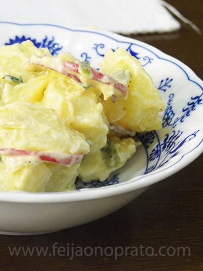 batatas com rabanete
